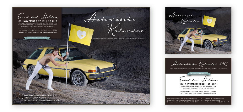 Rostrosa_Autowaesche 2013_Plakat+Flyer