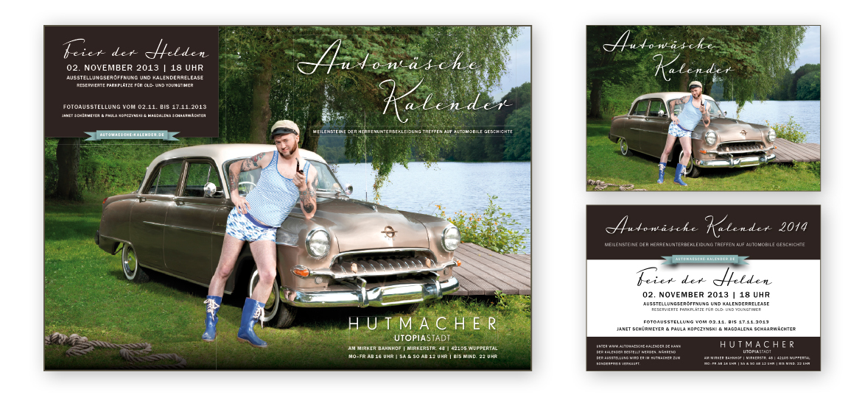 Rostrosa_Autowaesche 2014_Plakat+Flyer