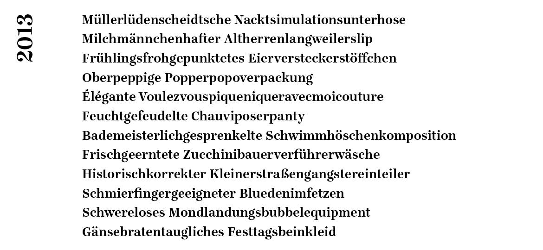 Rostrosa_Autowäsche Wortschlangen_2013