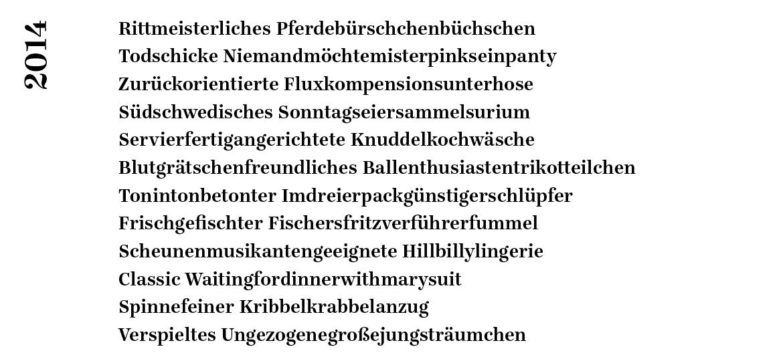 Rostrosa_Autowäsche Wortschlangen_2014